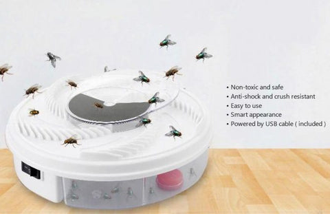 Electric Fly Trap For Flys, Fruit Flys, and Gnats, trap for gnats, fruit fly trap, gnat trap, fly trap electric