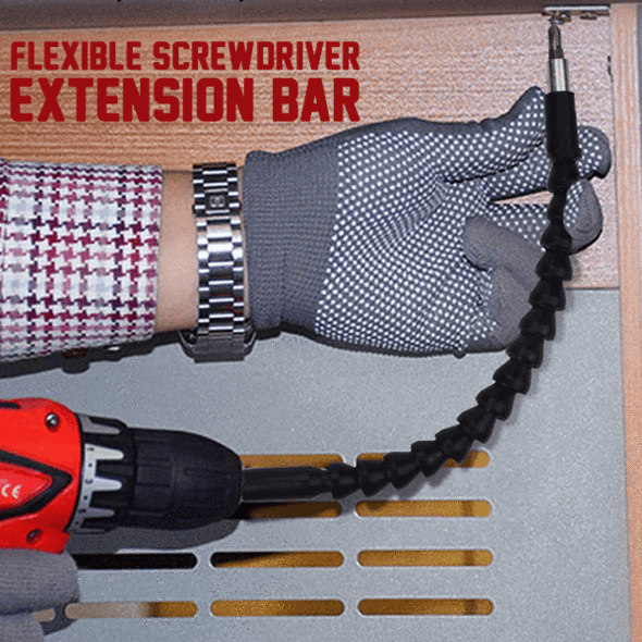 Flexible Extension for Screwdriver