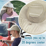 Hydro Cooling Outdoor Hat