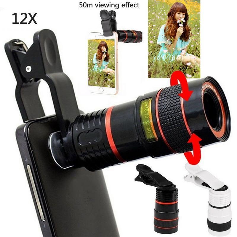12X Zoom Telescopic Mobile Phone Lens