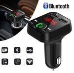 Car FM Transmitter & Charger (New Version)