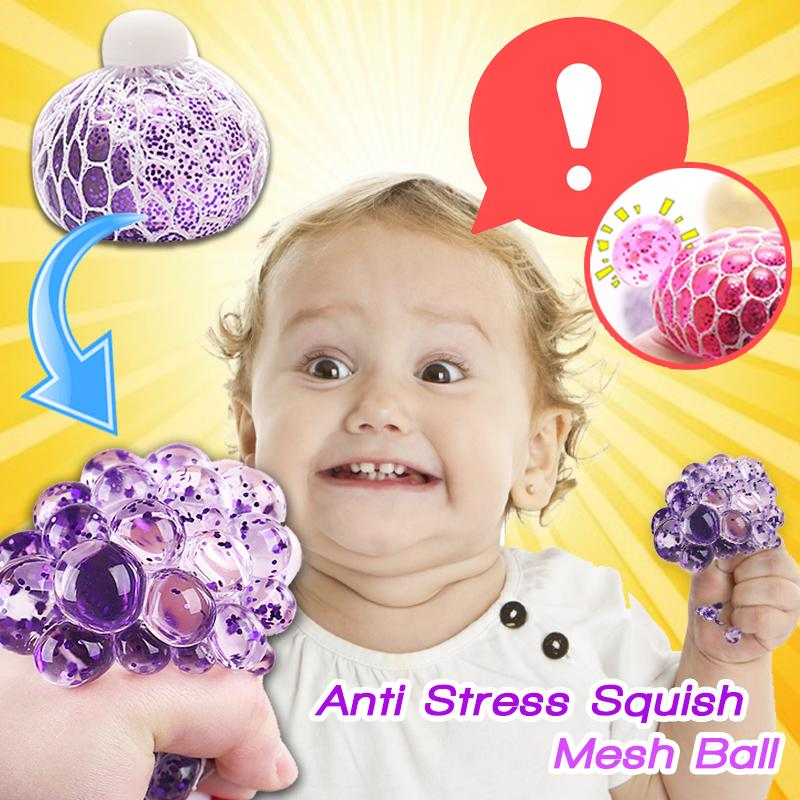 Stress Free Squishy Mesh Ball