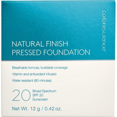 ColoreScience Natural Finish Pressed Foundation SPF 20 12g (Makeup) från ColoreScience. | SugarMe Esthetics