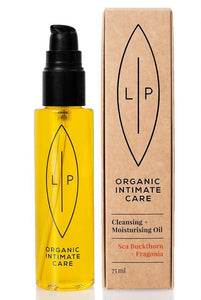 LIP Organic Intimate Care Sea Buckthorn + Fragonia - 75ml (Intimate Cleanser) från LIP. | SugarMe Esthetics