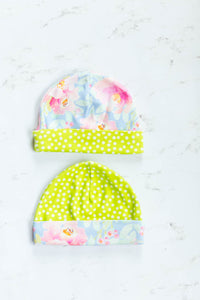 Basic Baby Hat PDF Sewing Pattern with Bow Option