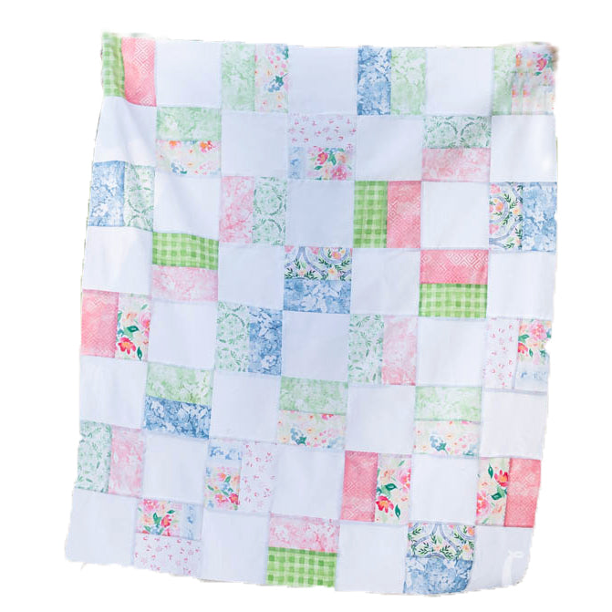 Simple Squares PDF Quilt Pattern | Beginner Quilt Pattern