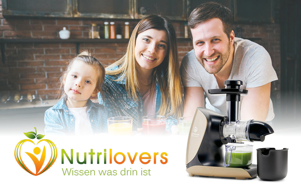 Nutrilovers Keramik Slow Juicer GREEN-PRESS KERAMIK BPA f...</p>             </div>           	                                                                             <div class=
