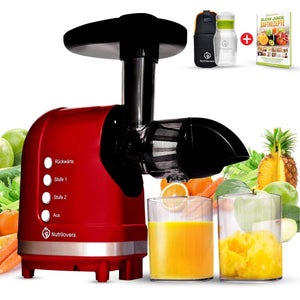 MINI-PRESS Slow Juicer inkl. Glastrinkflasche | BPA-frei