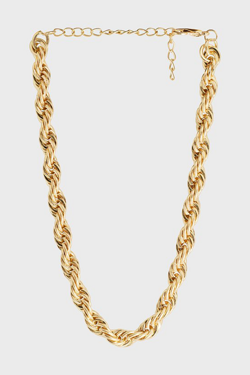 Bling Bar / Ariel Twisted Choker / Vintage Gold