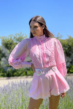 Mackenzie Mode / Starlet Blouse / Pink