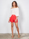 Wish The Label / Jocie Shorts / Red