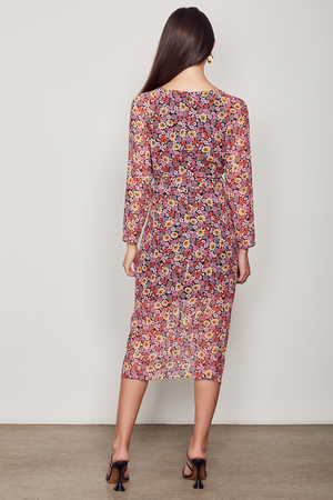 Wish The Label / Florence Midi Dress / Multi