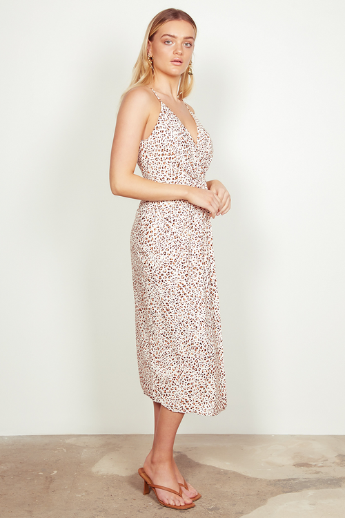 Wish The Label / Zahara Midi Dress / Multi