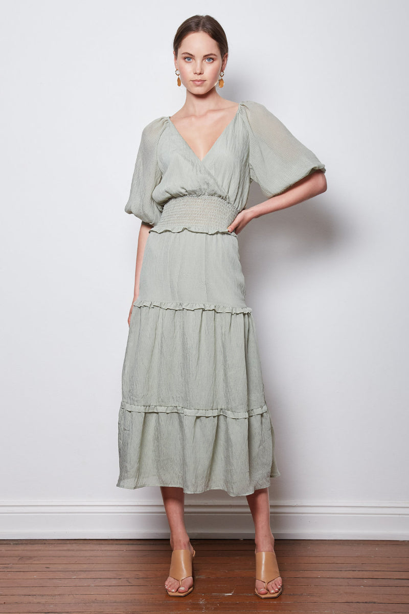 Wish The Label / Optimum Dress / Sage