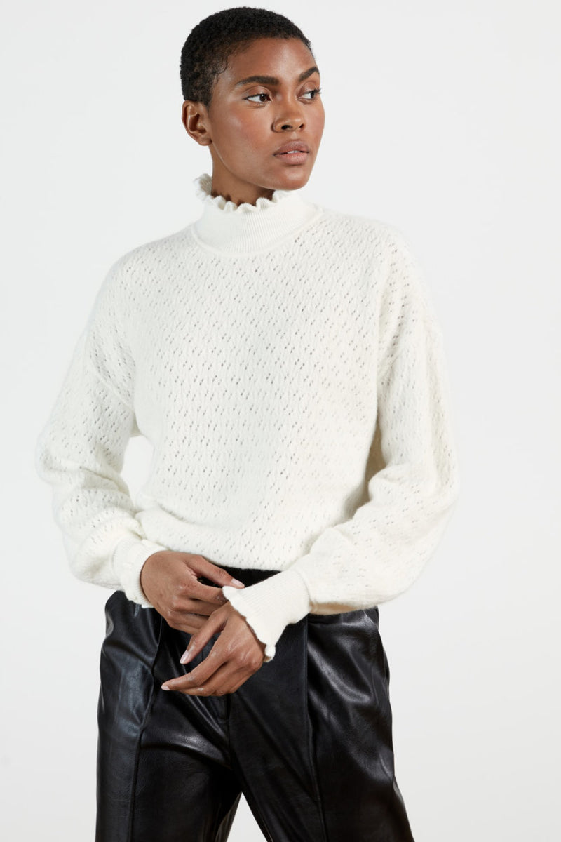 Ted Baker / Yolliey Knit / White