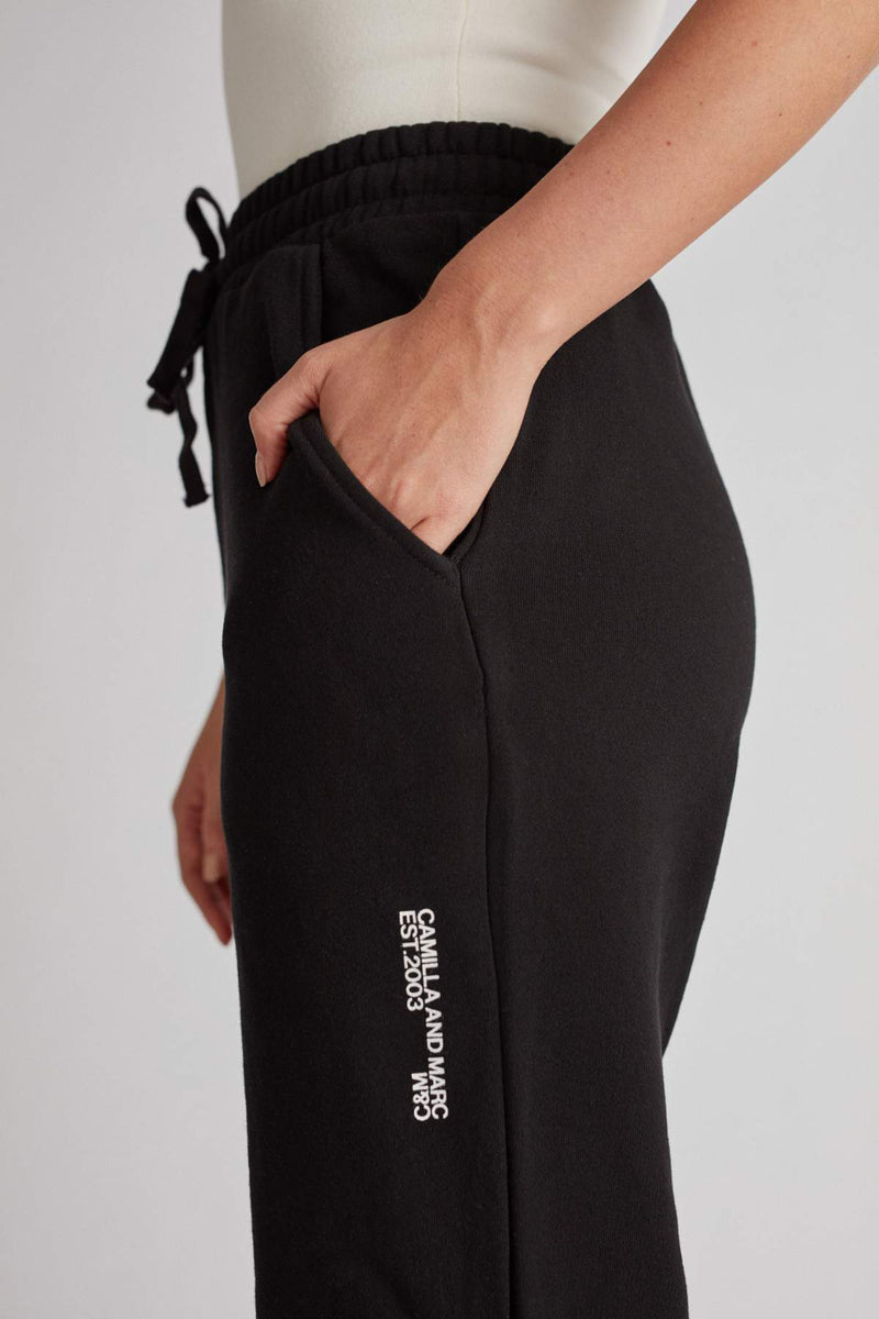 Camilla And Marc / Jordan High Waisted Track Pants / Black