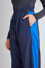 Camilla And Marc / Jukes Track Pants / Navy w Cobalt
