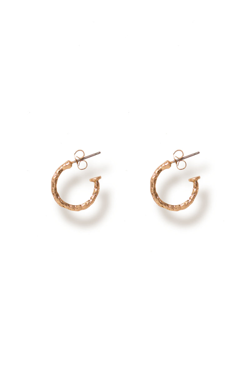 Bling Bar / Talia Mini Hoops / Gold