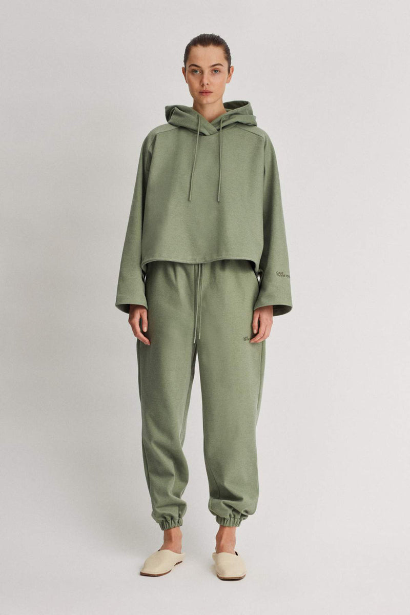 Camilla And Marc / Limia Cropped Hoodie / Sage
