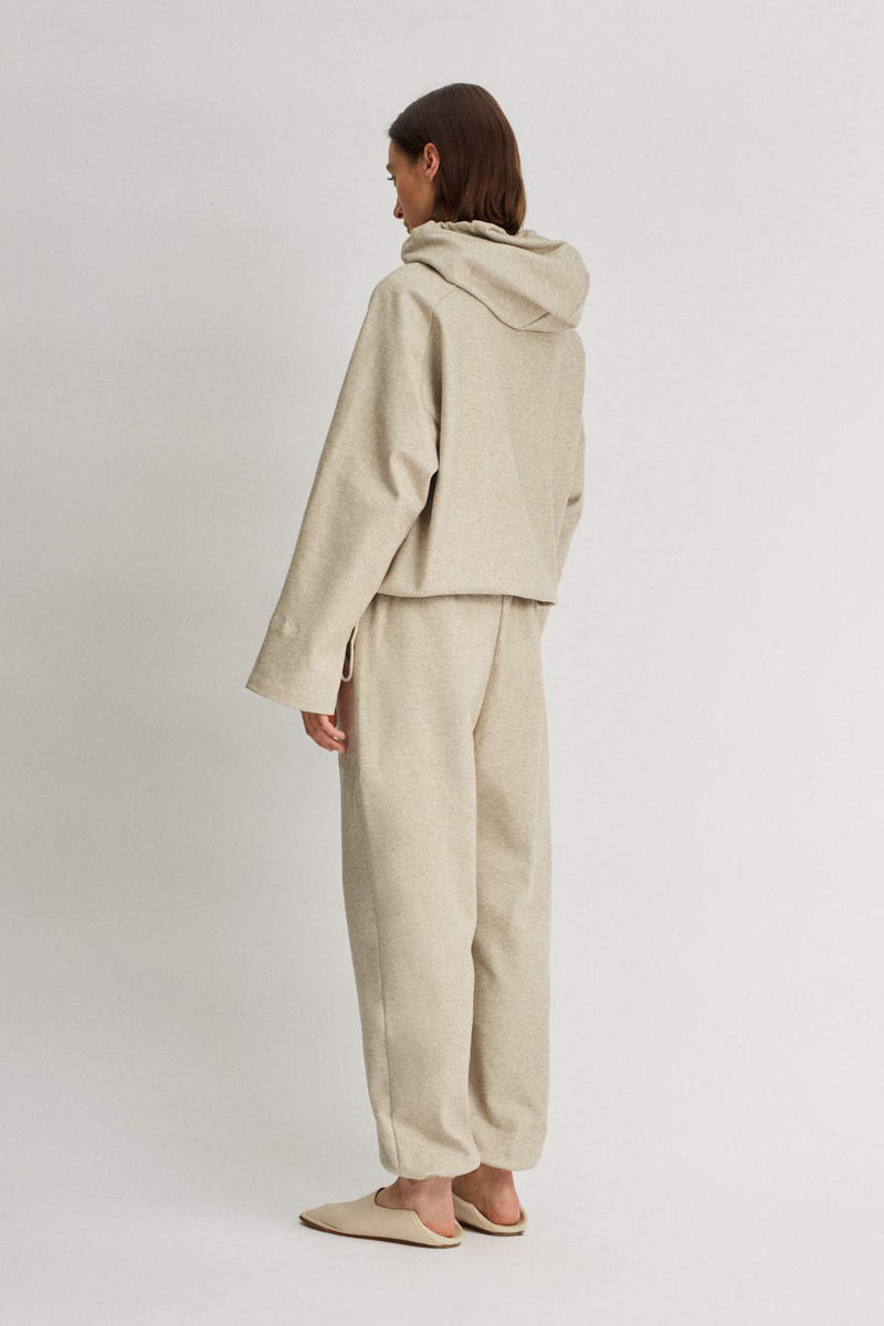 Camilla And Marc / Limia Cropped Hoodie / Oat Marle