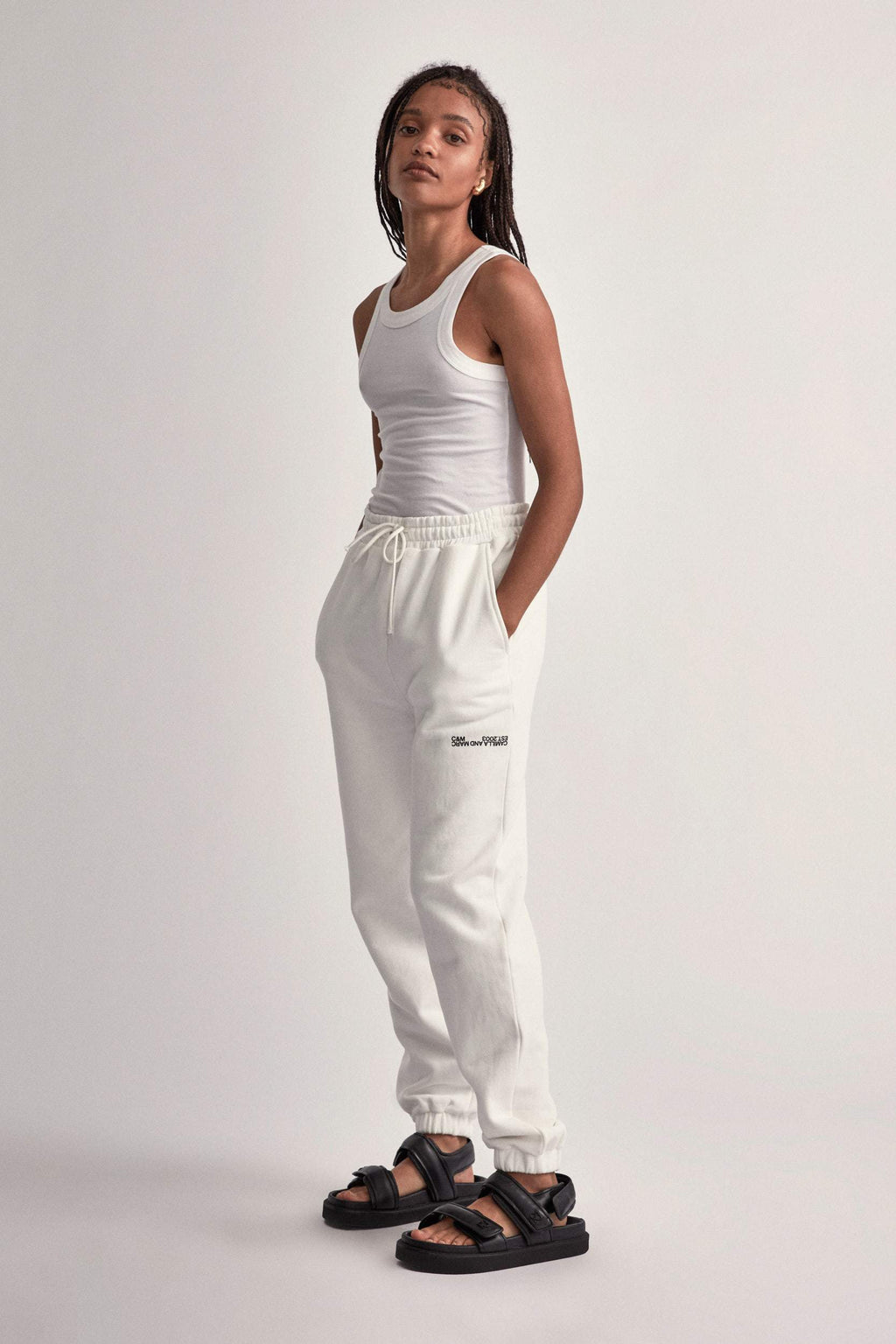 Camilla And Marc / Denver Track Pant / White