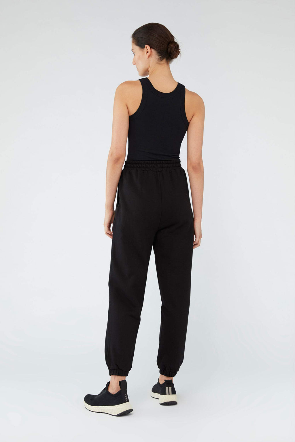 Camilla And Marc / Denver Track Pant / Black w White