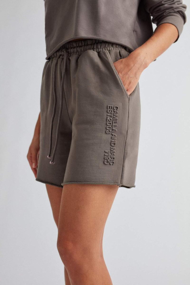 Camilla And Marc / Josef High Waisted Short / Smoke