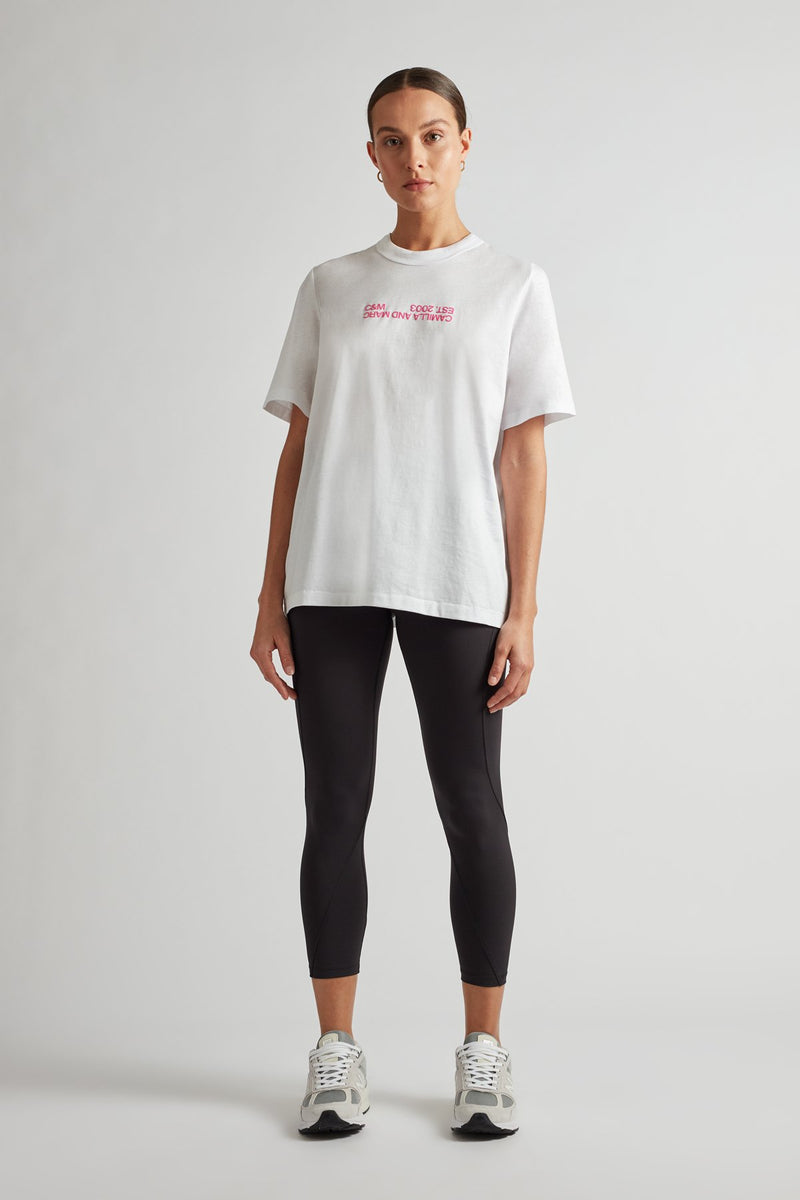Camilla And Marc / Emil Logo Tee / White