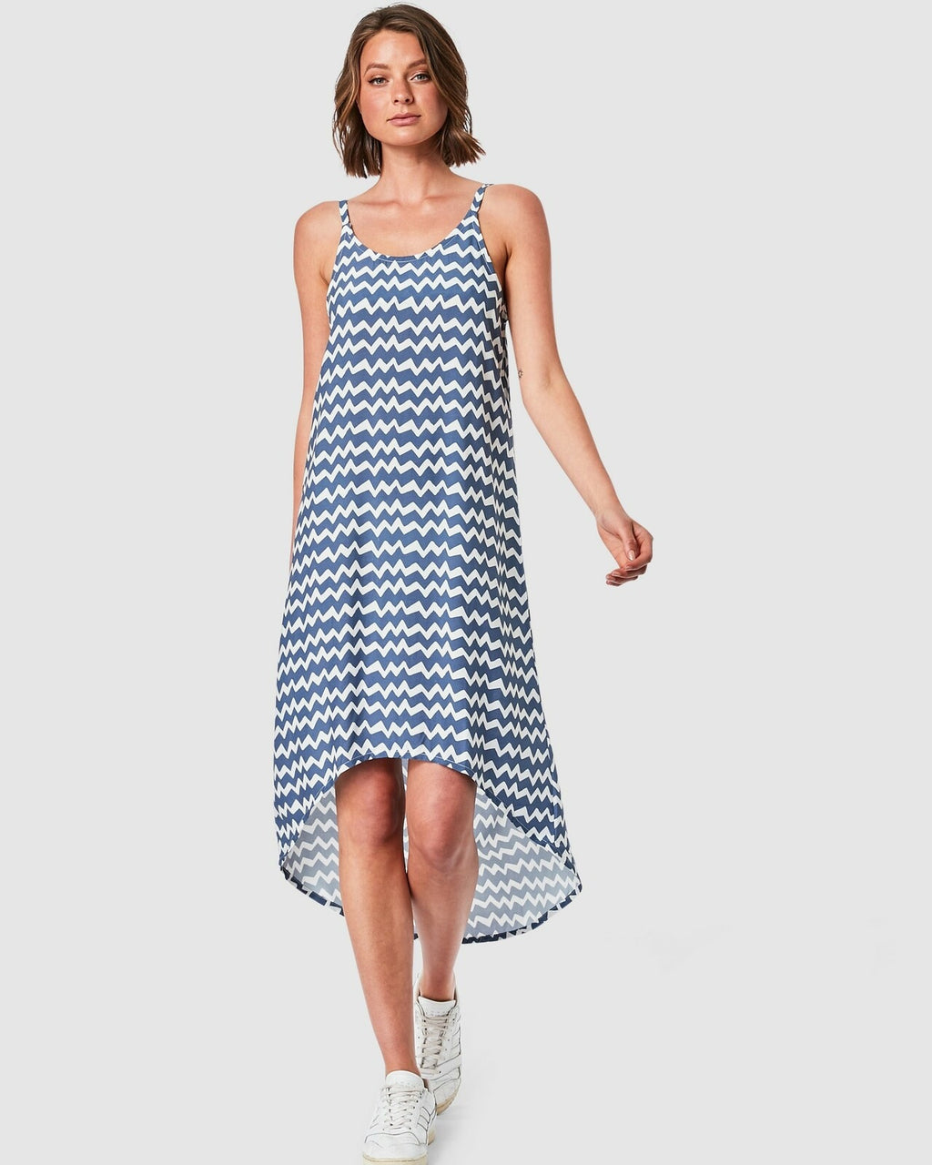 Elwood / Zoe Slip Dress / Chevron