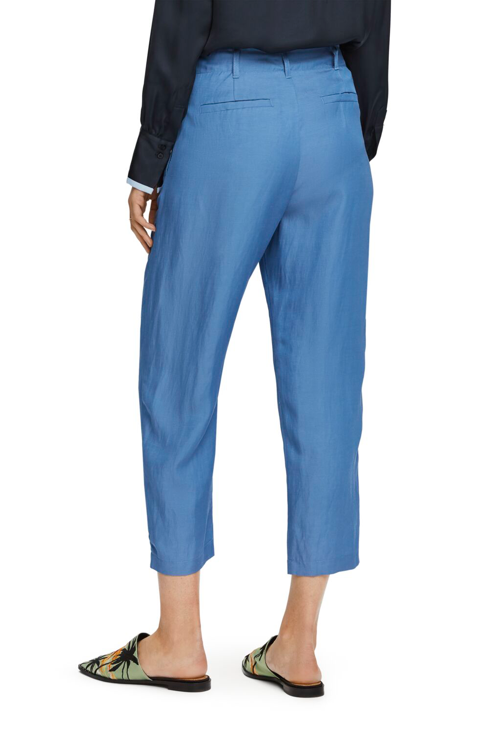 Maison Scotch / Tailored Pants / Azure Blue