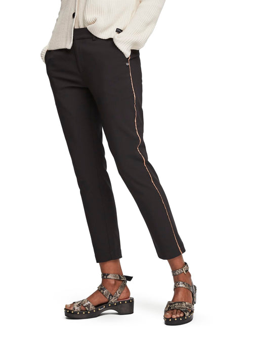 Maison Scotch / Tailored Stretch Pants / Black