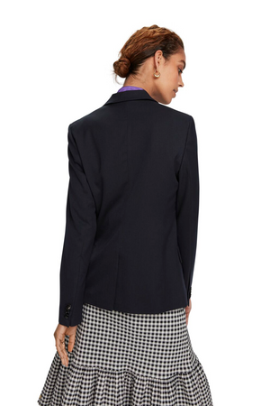 Maison Scotch / Classic Tailored Blazer / Night