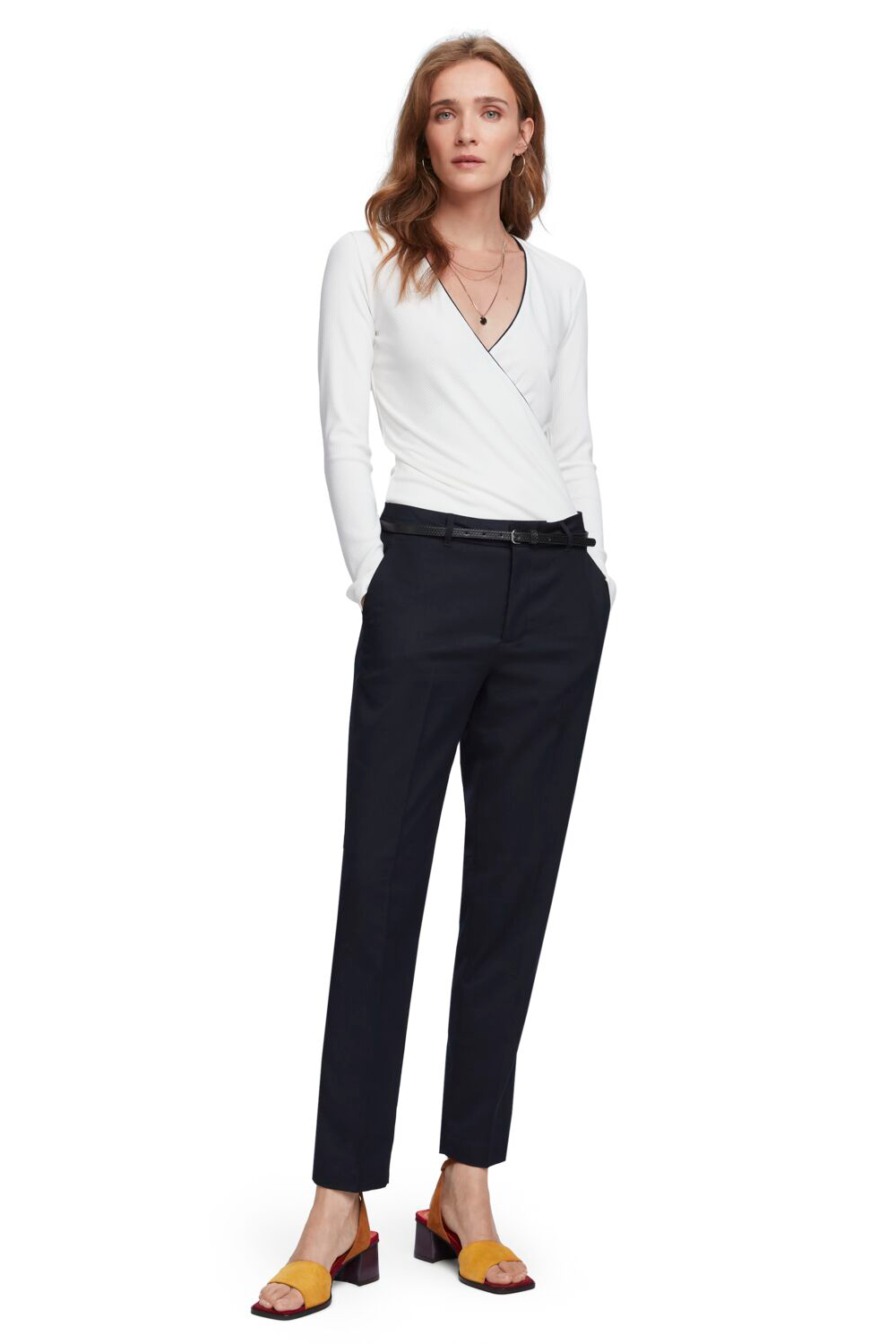 Maison Scotch / Classic Tailored Pants / Night