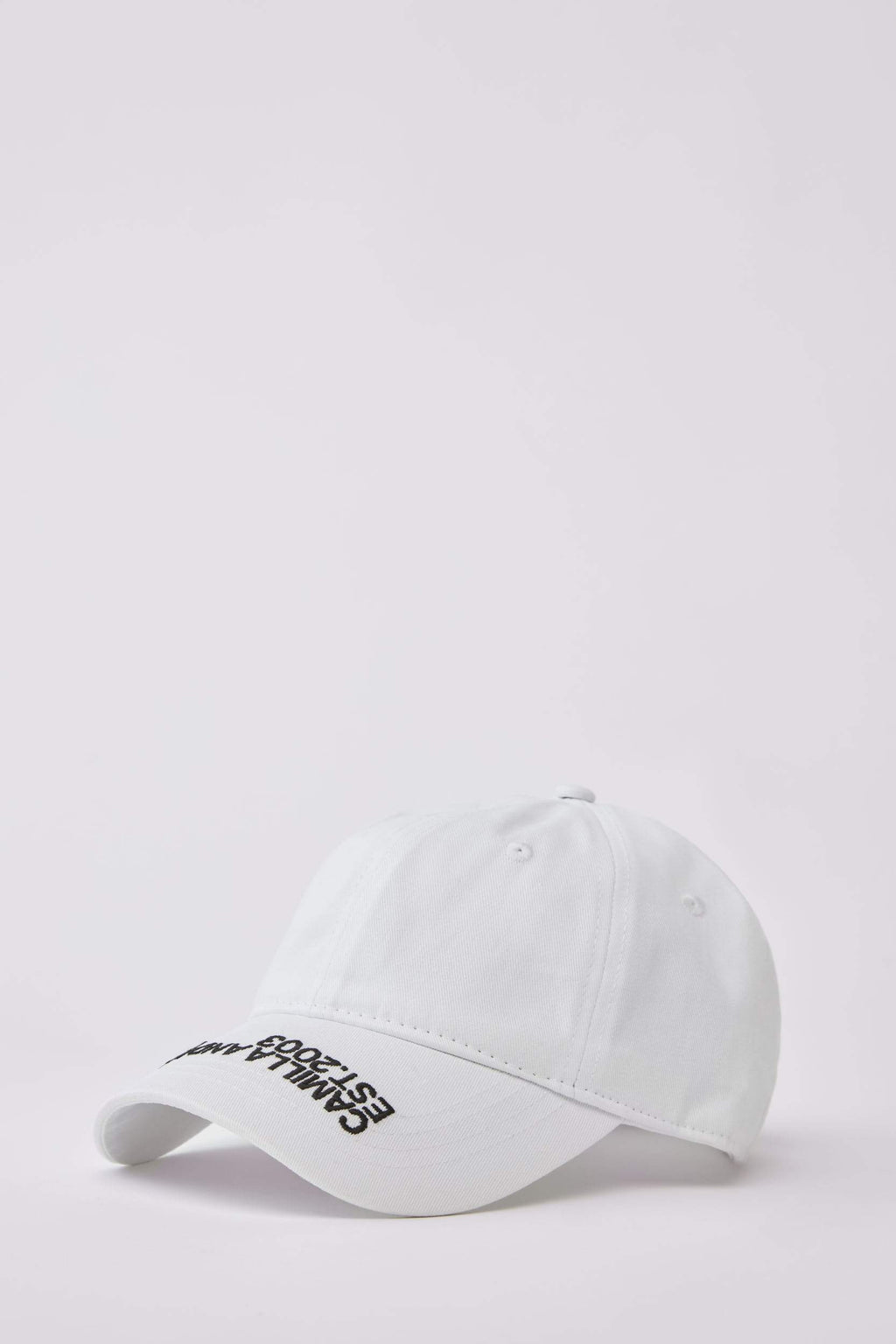 Camilla And Marc / Colorado Cap / White w Black