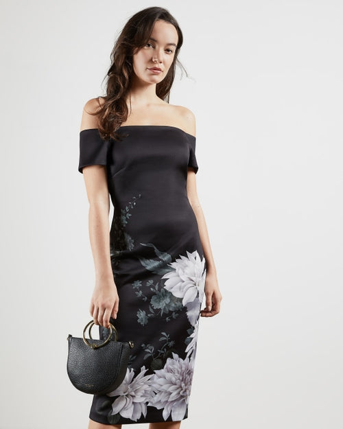 Ted Baker / Peaony Dress / Black