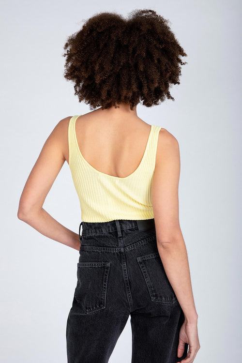 Neuw Denim / Moves Knitted Tank / Pale Banana