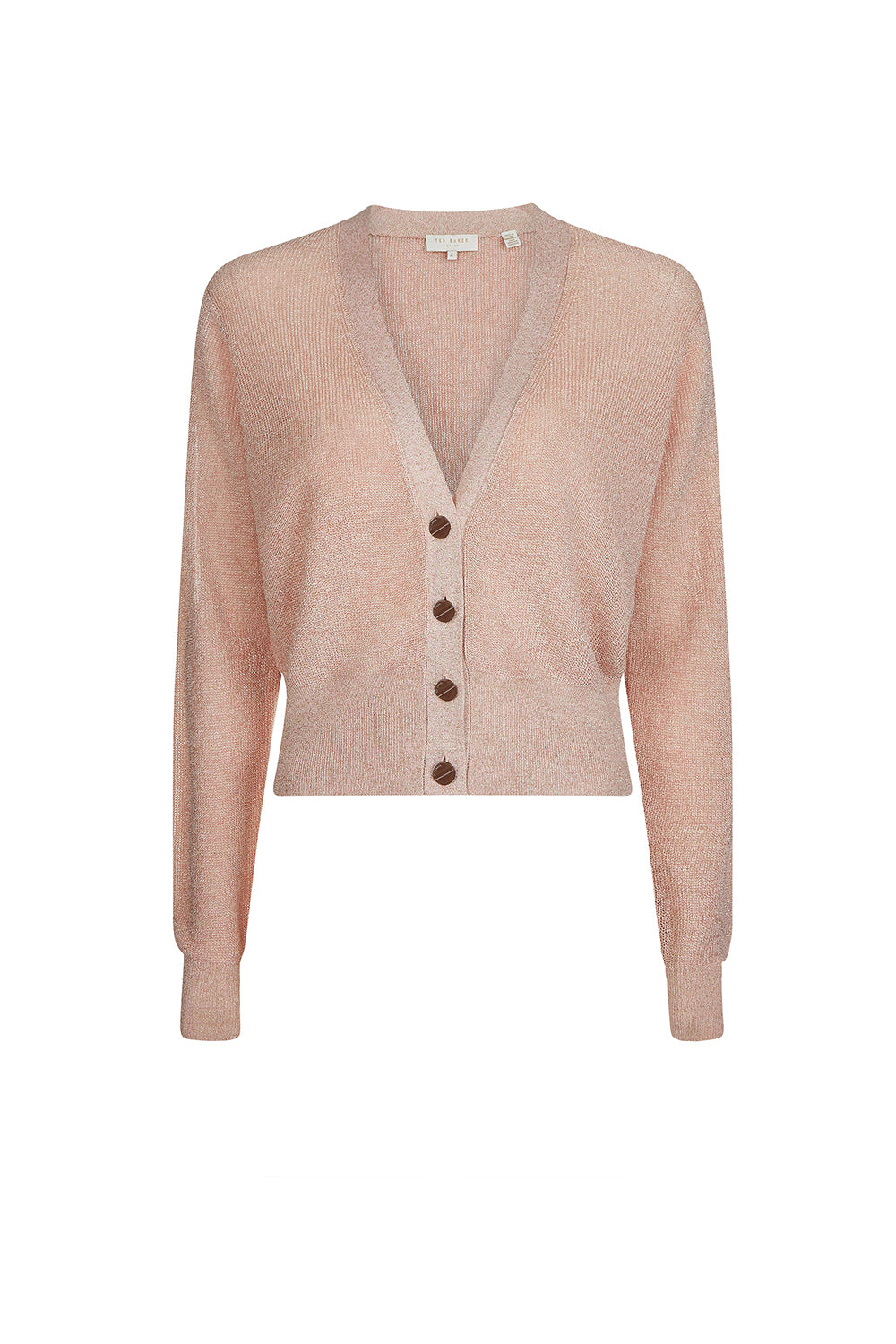 Ted Baker /  Madieyy Neck Cardi  / Pink