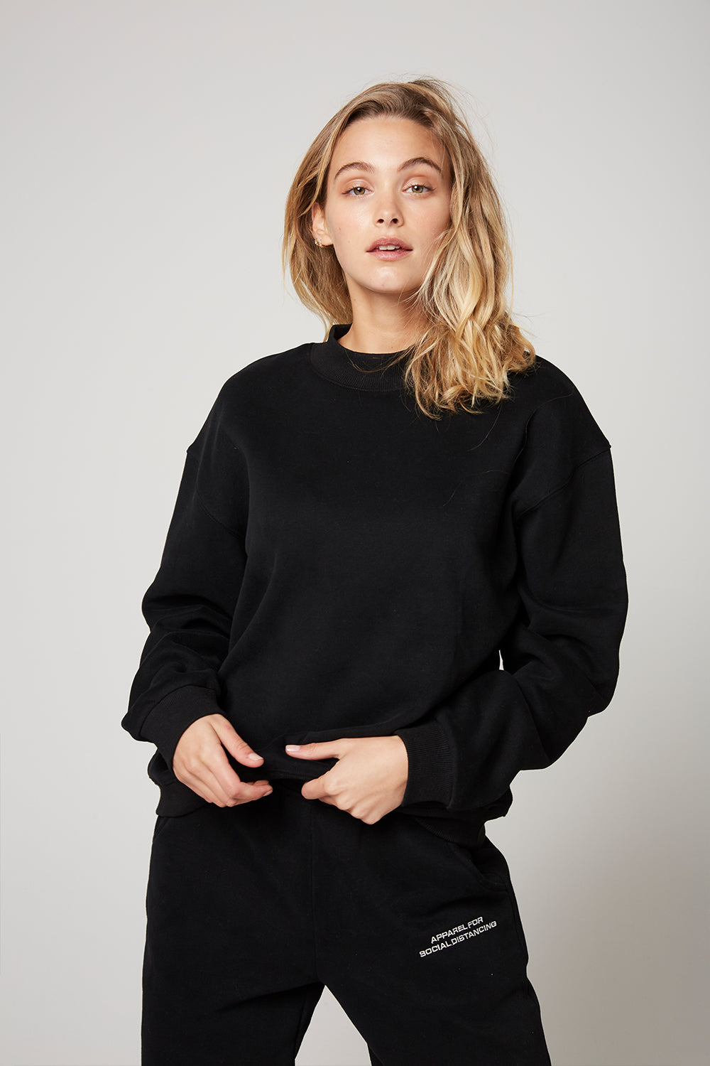 Atoir X RR / Crew Neck Jumper / Black