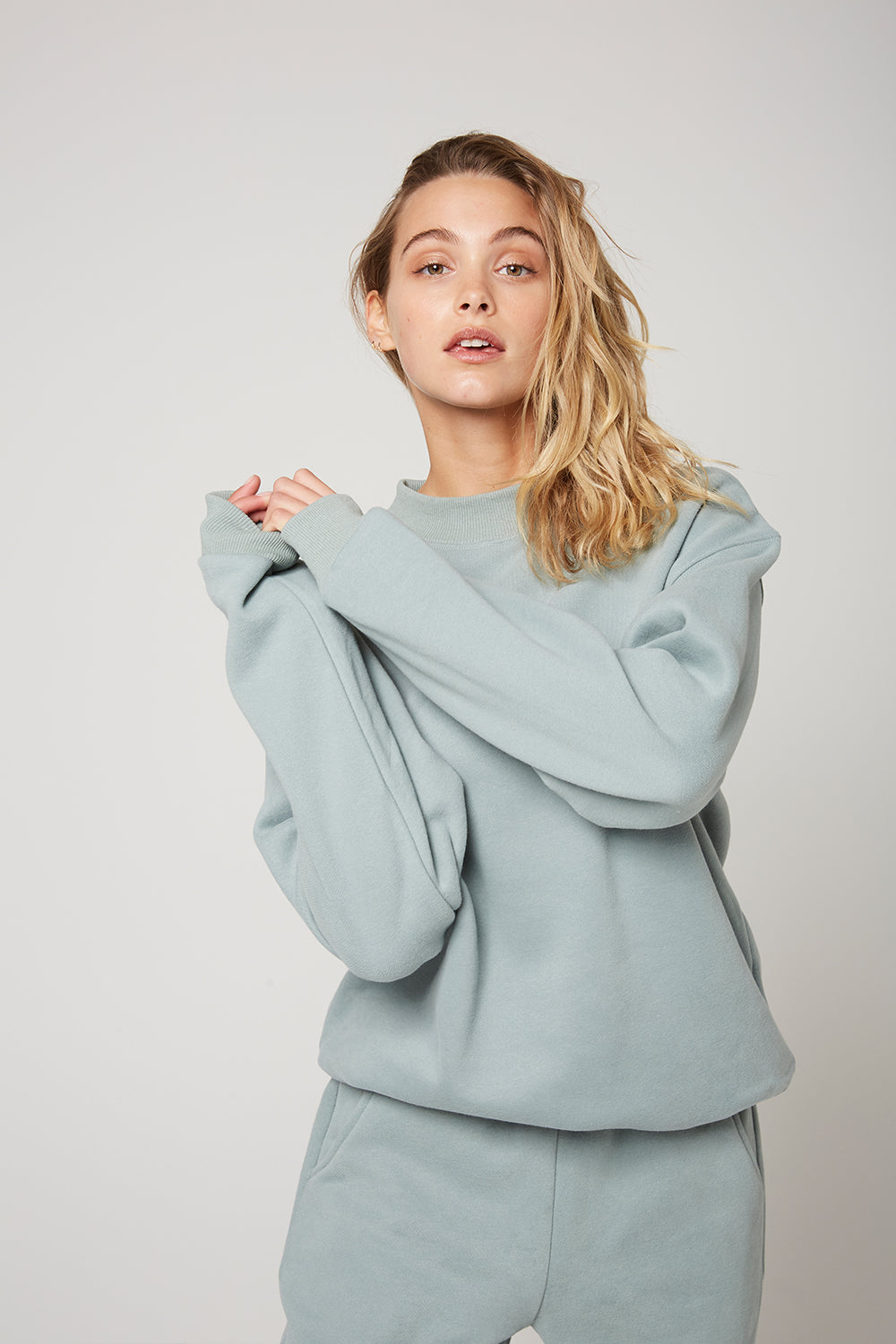 Atoir X RR / Crew Neck Jumper / Teal