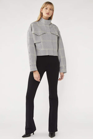 Camilla And Marc / Duvall Biker Jacket / Snowden Check