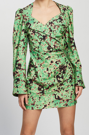 Camilla And Marc / Oceo Mini Wrapdress / Oceo Print