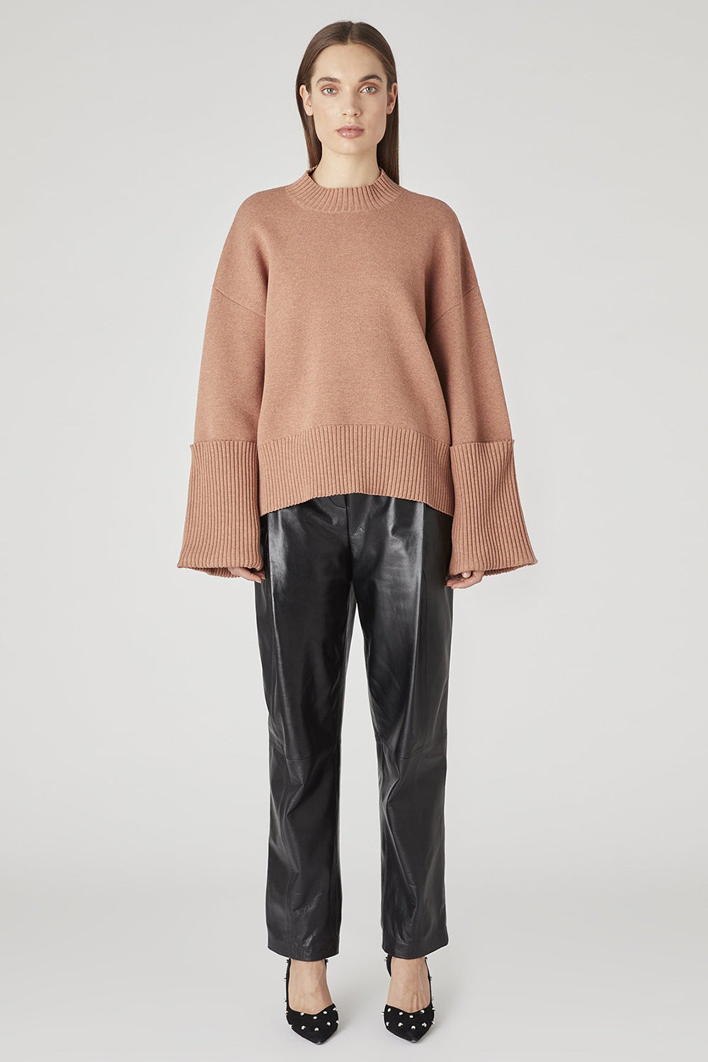Camilla And Marc / Jovanna Knit Top / Cinnamon