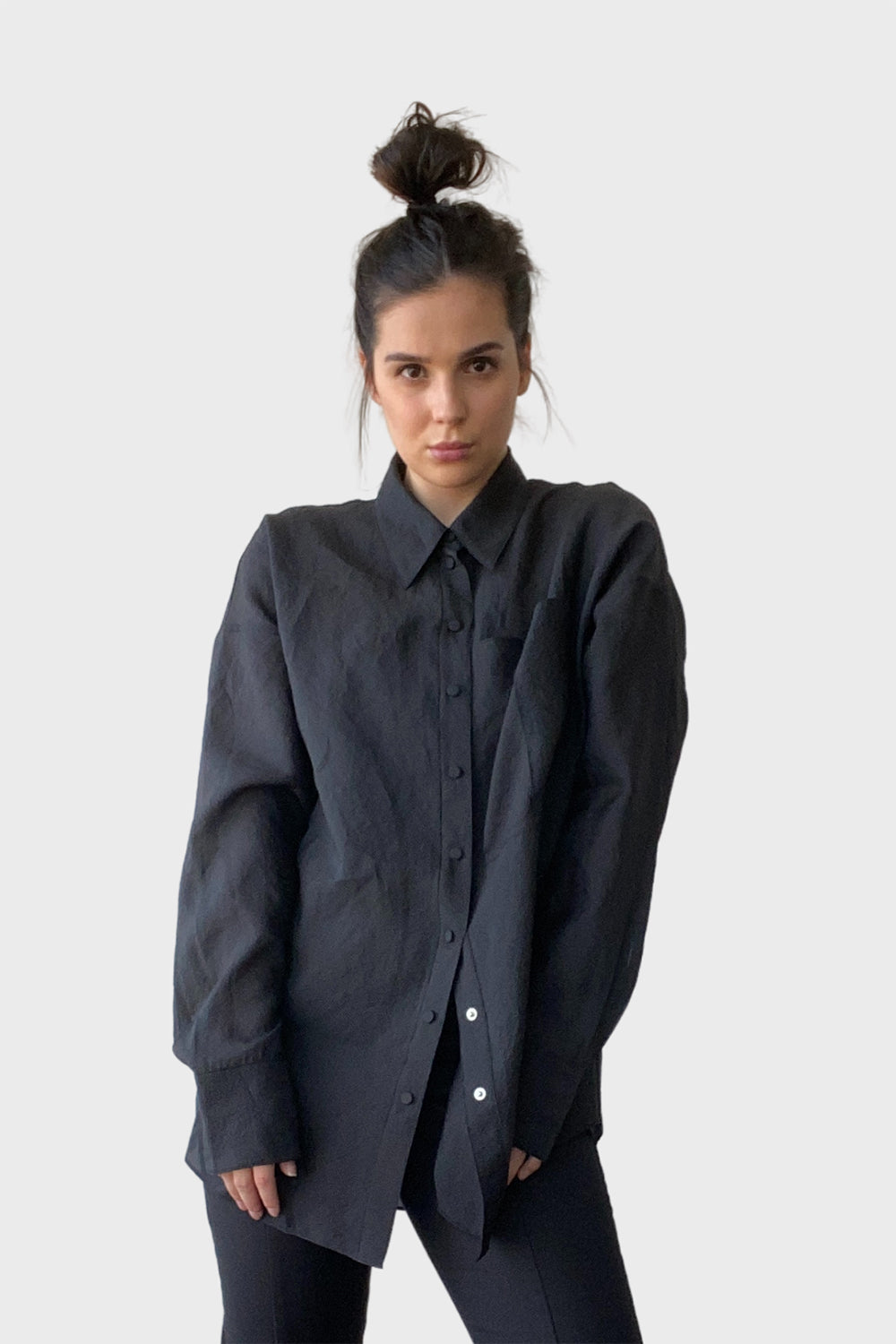 Camilla And Marc / Lona Shirt / Black