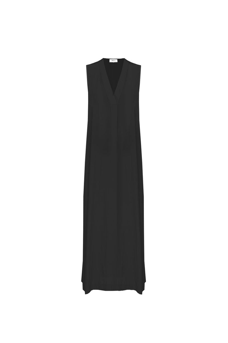 Mela Purdie / Parquet Slip Dress / Black