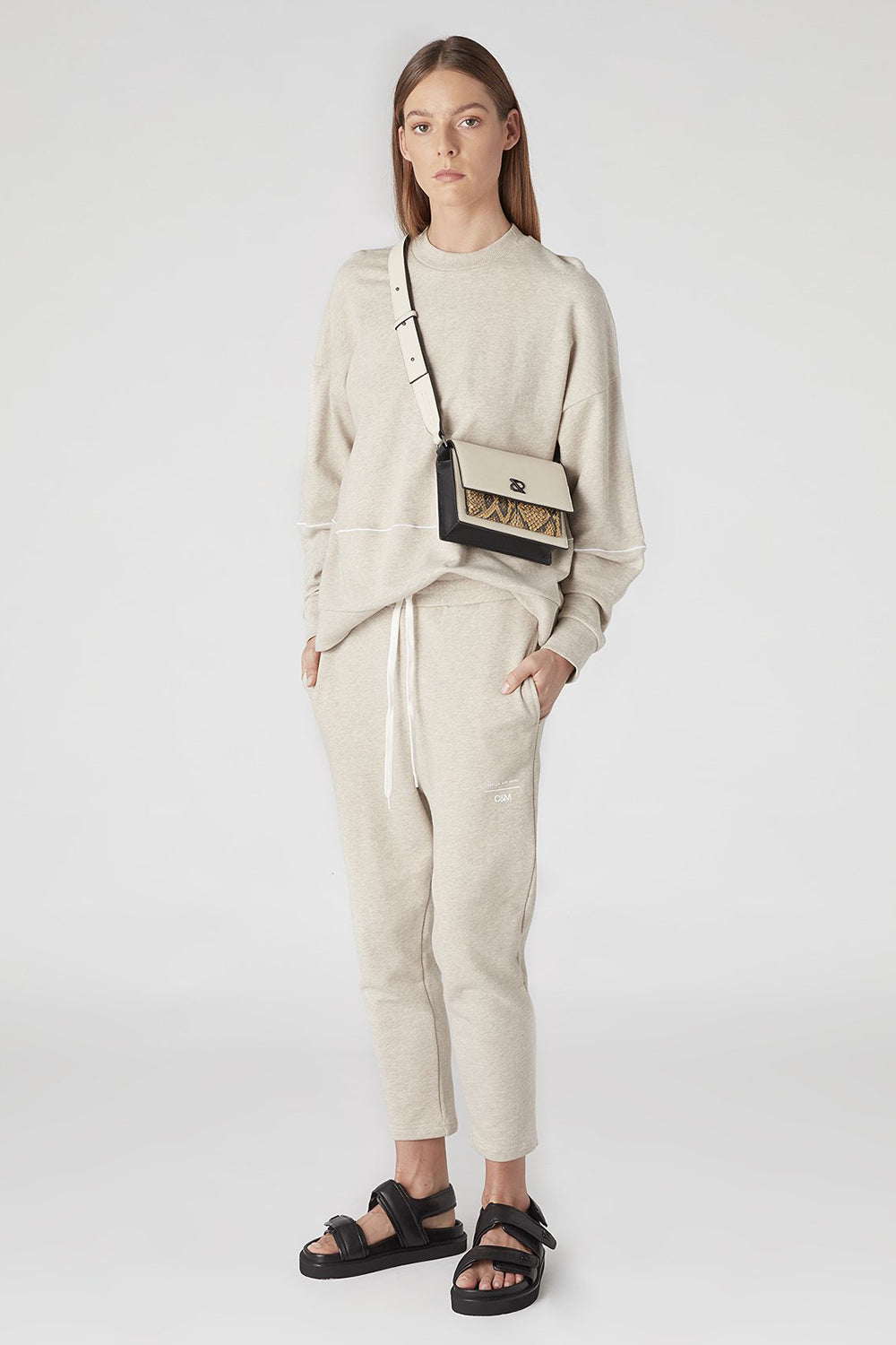Camilla And Marc / Prosper Track Pant / Oatmeal