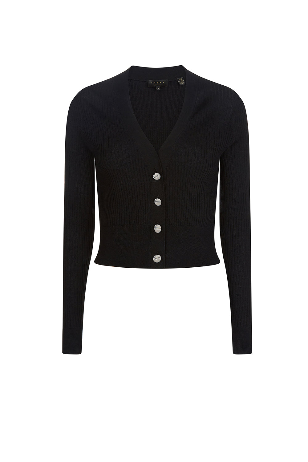 Ted Baker / Raeyaa Button Through Cardi / Black