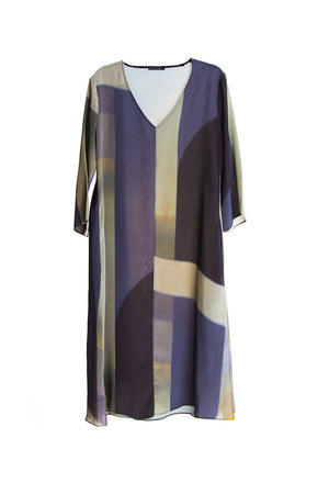 Lounge The Label / Teruel Dress / Khaki Print