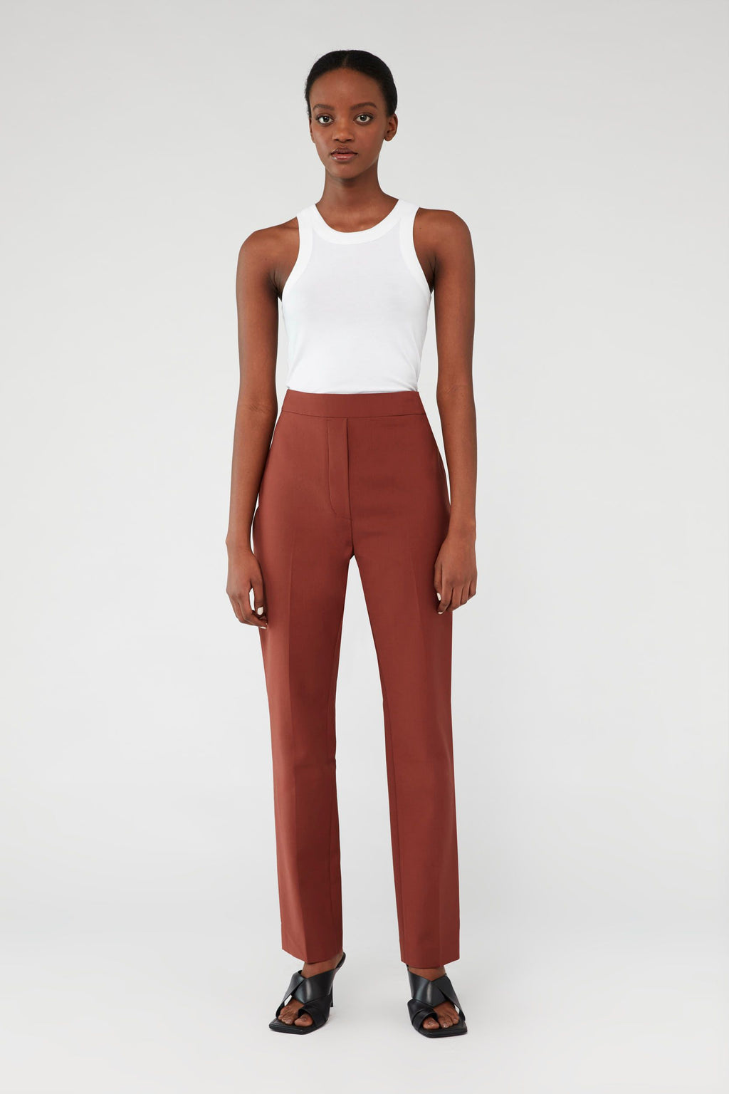 Camilla And Marc / Bailey Cigarette Pant / Cinnamon