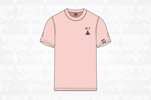 ULT Ghosted Skull Tee Pink