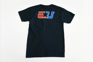 eUnited Stand Bold Tee black back